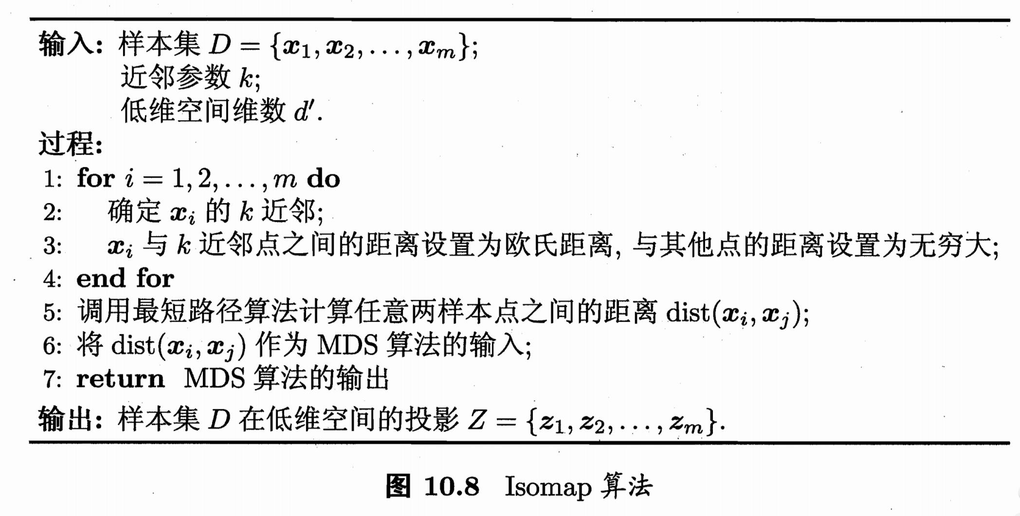 Isomap算法